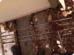 This is the destruction from an unchecked leaking shower fitting (2)